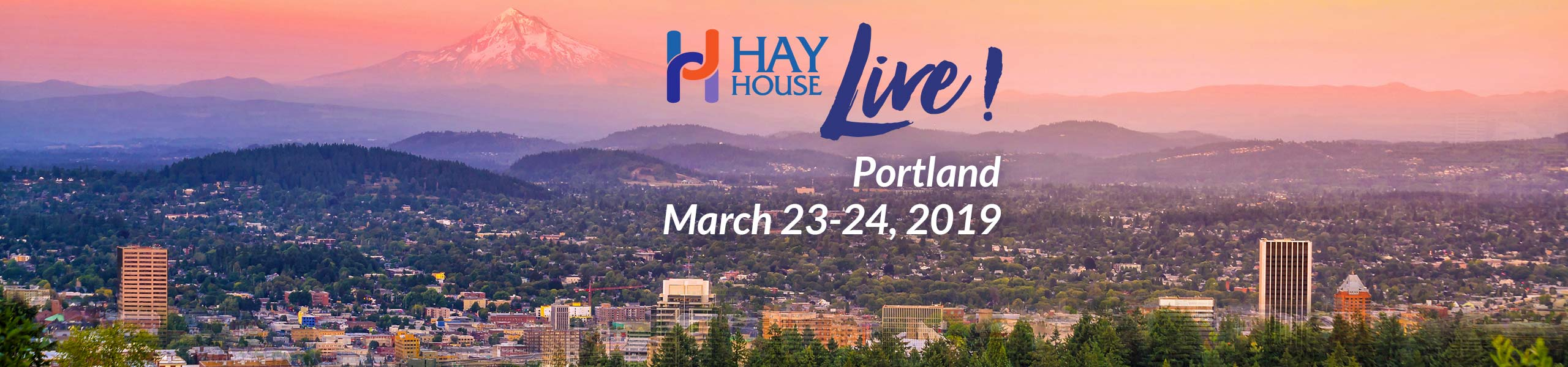 Hay House Live! Portland 2019 - Brian Weiss M.D. and Amy Weiss